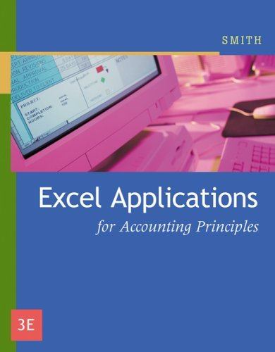 Excel Applications for Accounting Principles 9780324379150