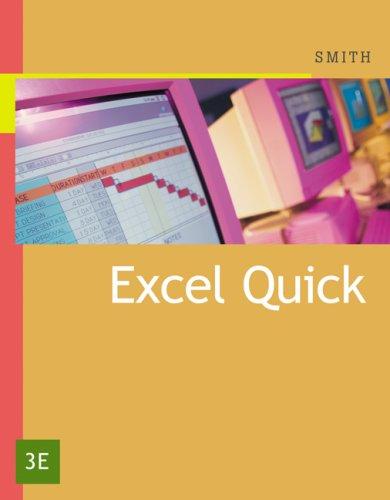 Excel Quick 9780324379044