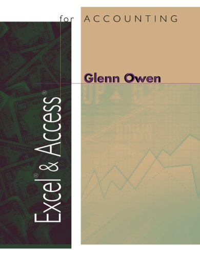 Excel and Access for Accounting