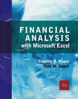 Financial Analysis with Microsoft Excel 9780324407501