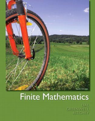 Finite Mathematics [With Access Code] 9780321760036
