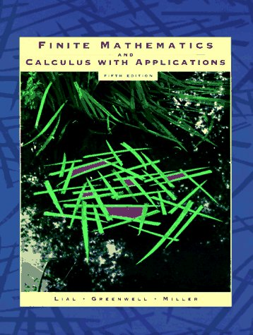 Finite Mathematics and Calculus with Applications 9780321016331