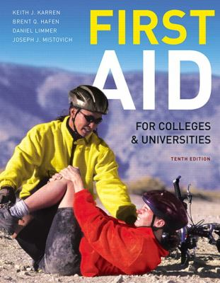 First Aid for Colleges and Universities 9780321732590