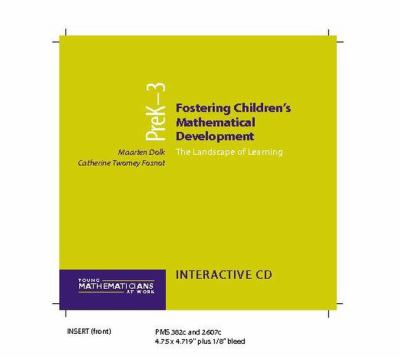 Fostering Children's Mathematical Development, Grades Prek-3 (CD): The Landscape of Learning 9780325006796