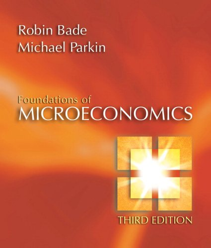 Foundations of Microeconomics Plus Myeconlab Plus eBook 1-Semester Student Access Kit [With Myeconlab Student Access Kit] 9780321415950