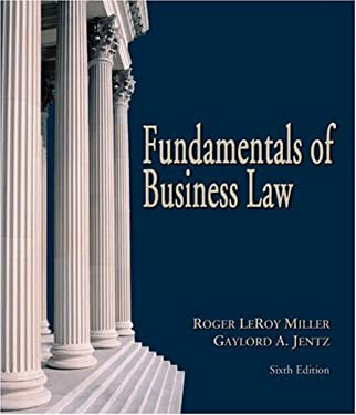 Fundamentals of Business Law [With Online Research Guide] 9780324270945