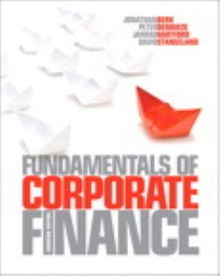 Fundamentals of Corporate Finance, Canadian Edition with MyFinanceLab 9780321818171