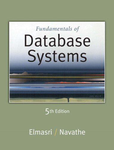 Fundamentals of Database Systems 9780321369574