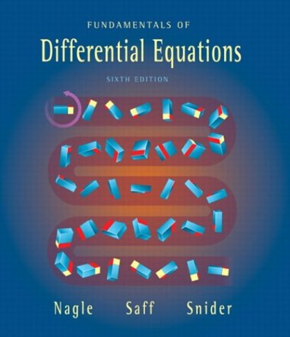 Fundamentals of Differential Equations 9780321145727