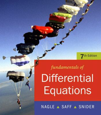 Fundamentals of Differential Equations [With CDROM]