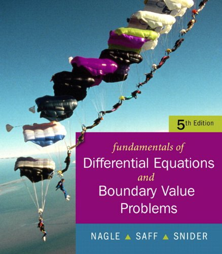 Fundamentals of Differential Equations with Boundary Value Problems 9780321388438