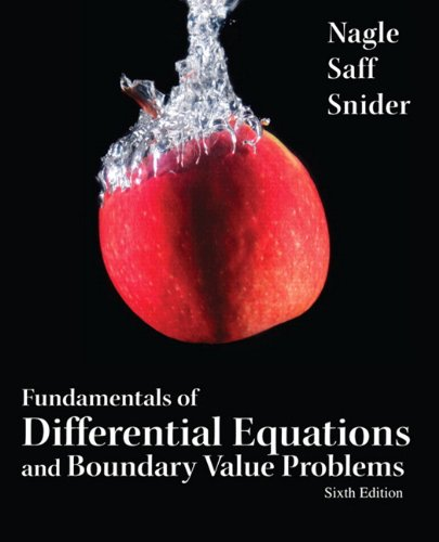 Fundamentals of Differential Equations and Boundary Value Problems 9780321747747