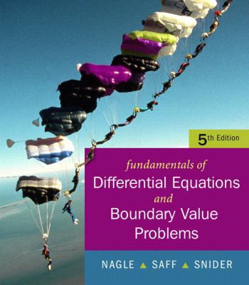 Fundamentals of Differential Equations with Boundary Value Problems [With CDROM] 9780321613219