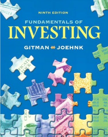 Fundamentals of Investing 9780321236852