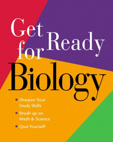 Get Ready for Biology 9780321500571