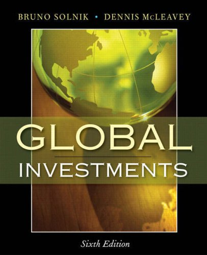 Global Investments 9780321527707