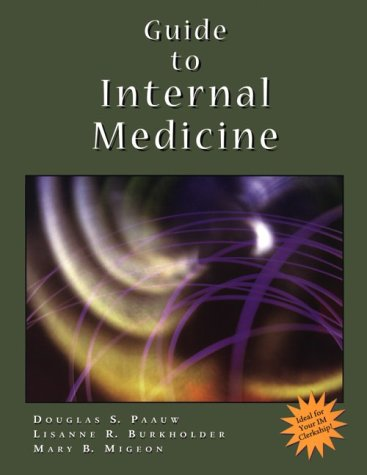 Guide to Internal Medicine 9780323009218