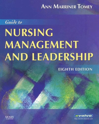 Guide to Nursing Management and Leadership 9780323052382