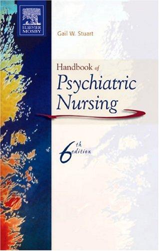 Handbook of Psychiatric Nursing 9780323035026