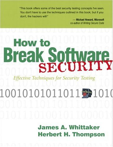 How to Break Software Security 9780321194336