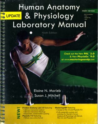 Human Anatomy & Physiology Laboratory Manual, Main Version, Update [With CDROM] 9780321765604