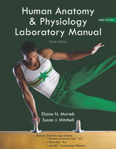Human Anatomy & Physiology: Laboratory Manual [With CDROM] 9780321616142
