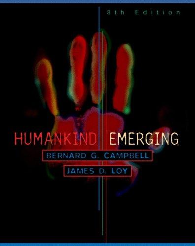 Humankind Emerging 9780321022745