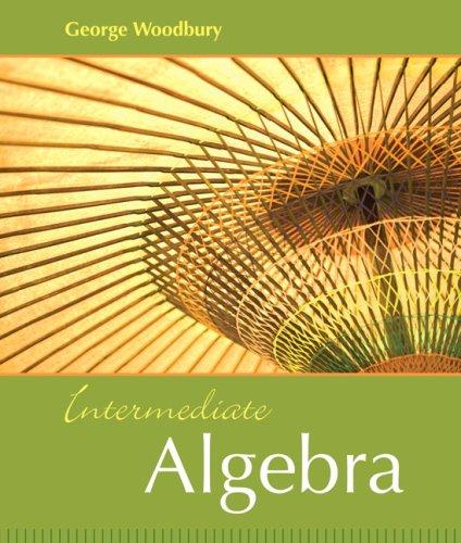 Intermediate Algebra 9780321166418