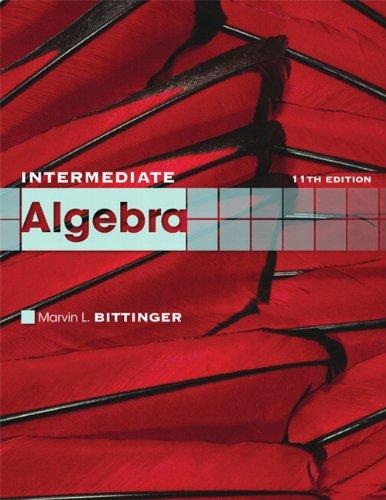 Intermediate Algebra 9780321613363
