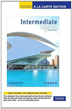Intermediate Algebra 9780321665515