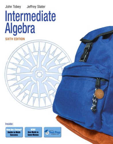 Intermediate Algebra 9780321578297