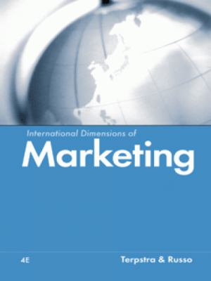 International Dimensions of Marketing 9780324014914