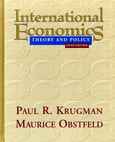 international economics krugman Free sample test bank for international economics 9th edition by krugman: multiple choice questions, true/false questions, essay questions are the biggest motivation.