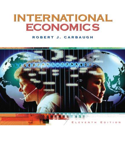 International Economics 9780324421941