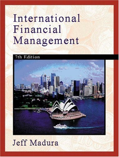 International Financial Management 9780324165517