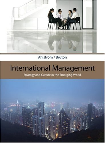 International Management: Strategy and Culture in the Emerging World 9780324406313