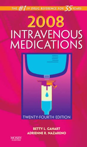 Intravenous Medications: A Handbook for Nurses and Health Professionals