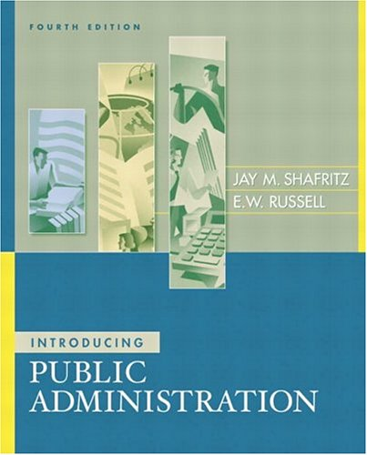 Introducing Public Administration 9780321217318