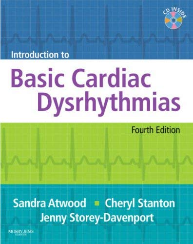 Introduction to Basic Cardiac Dysrhythmias [With CDROM and Punch-Out Flashcards] 9780323052252