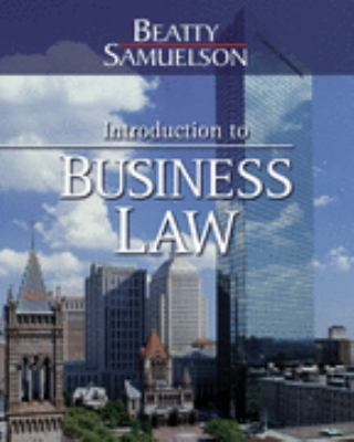 Introduction to Business Law, Preliminary Edition Introduction to Business Law, Preliminary Edition 9780324374896