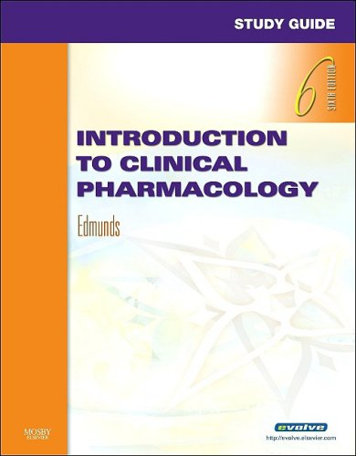 Introduction to Clinical Pharmacology 9780323056229