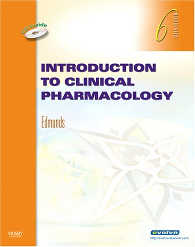Introduction to Clinical Pharmacology [With CDROM] 9780323056205