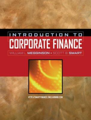 Introduction to Corporate Finance [With Access Code] 9780324379860