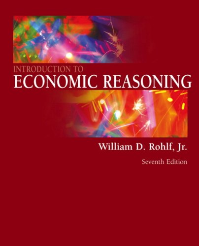 Introduction to Economic Reasoning 9780321416117