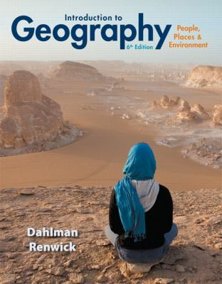 Introduction to Geography: People, Places & Environment 9780321843333