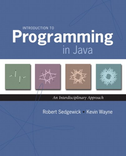 Introduction to Programming in Java: An Interdisciplinary Approach 9780321498052