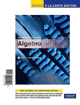 Introductory Algebra 9780321654441