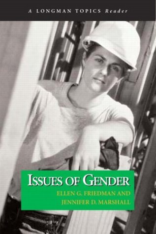 Issues of Gender (a Longman Topics Reader) 9780321108791