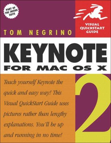 Keynote 2 for Mac OS X 9780321246615