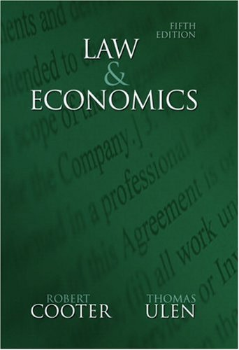 Law and Economics 9780321336347